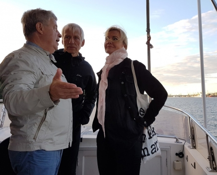 1. Cruise in Klaipeda in 2016
