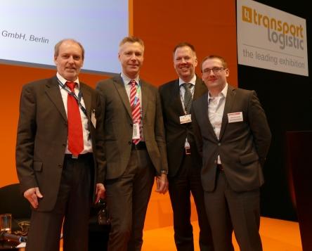 6. Transport Logistic Trade Fair Munich 2017, Project EMMA panellists