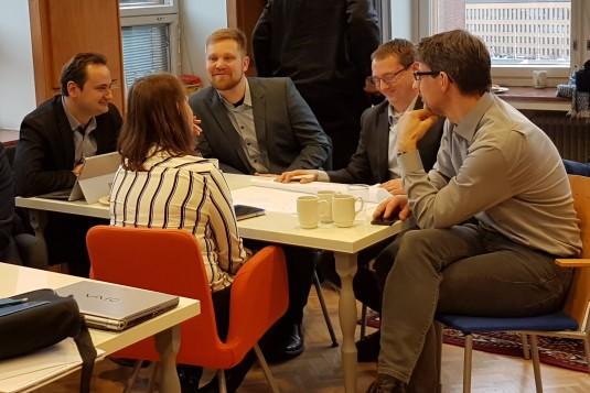 Partner meeting in Helsinki