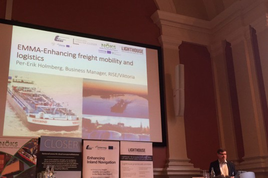 EMMA presentation during SE seminar on inland navigation